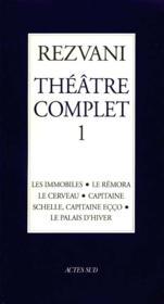 Theatre Complet- T1 - Couverture - Format classique