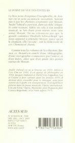 Mozart ; chemins et chants - 4ème de couverture - Format classique