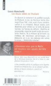 Les douze abbés de challant - 4ème de couverture - Format classique