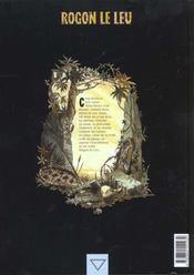 Rogon le Leu t.2 ; frères de sang - 4ème de couverture - Format classique