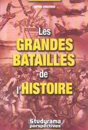 Grandes Batailles De L'Histoire (Les) - Intérieur - Format classique