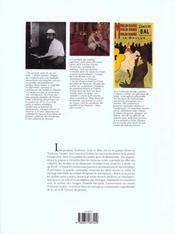 Toulouse-Lautrec - 4ème de couverture - Format classique