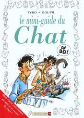 Les mini-guides en BD t.13 ; chats - Intérieur - Format classique