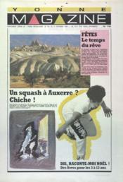 Yonne Magazine N°116 du 17/12/1988 - Couverture - Format classique