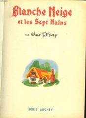 Blanche Neige Et Les Septs Nains - Lady - Couverture - Format classique