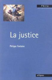 La Justice - Intérieur - Format classique