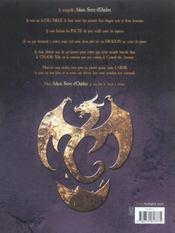 Dragonseed T01 - 4ème de couverture - Format classique