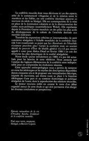 Marabouts De L'Arachide : La Confrerie Mouride ... - 4ème de couverture - Format classique