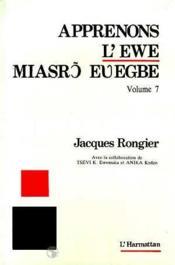 Apprenons l'Ewe t.7 - Couverture - Format classique