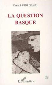 La question basque - Couverture - Format classique