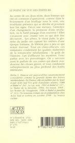 Le genie du lieu ; la gloriette - 4ème de couverture - Format classique