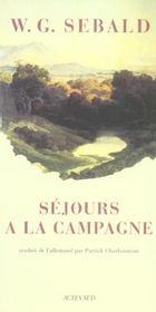 Sejours A La Campagne - Intérieur - Format classique