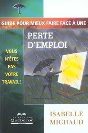 Guide Pour Mieux Faire Face A Une Perte D'Emploi - Intérieur - Format classique
