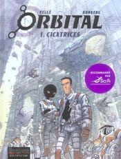 Orbital T.1 ; Cicatrices - Intérieur - Format classique