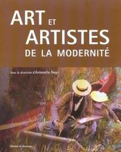 Art et artistes de la modernite - Intérieur - Format classique