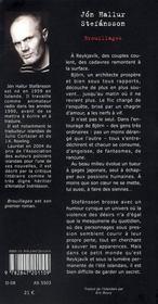 Brouillages - 4ème de couverture - Format classique