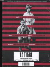 Tigre n 5 septembre 2007 - Couverture - Format classique