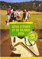 Gites D'Etapes Et De Sejours 2000 - Intérieur - Format classique