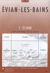 Evian-les-Bains ; 1263 - Couverture - Format classique