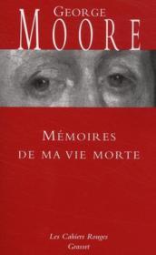 Mémoires de ma vie morte - Couverture - Format classique