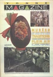 Yonne Magazine N°185 du 14/04/1990 - Couverture - Format classique