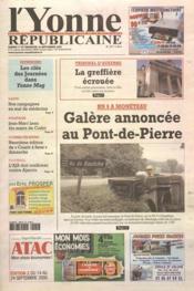 Yonne Republicaine (L') N°217 du 17/09/2005 - Couverture - Format classique