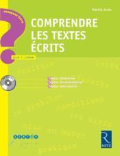 Comprendre des textes écrits ; cycle 3 ; collège - Couverture - Format classique
