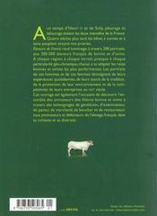 Eleveurs De France - 4ème de couverture - Format classique