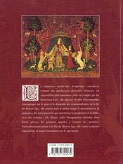 La Tapisserie Au Moyen Age - 4ème de couverture - Format classique
