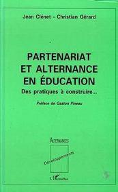 Partenariat Et Alternance En Education - Intérieur - Format classique