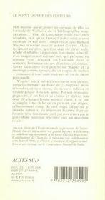 Richard Wagner - 4ème de couverture - Format classique