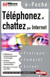 E-poche telephoner & chatter par internet - Couverture - Format classique