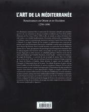 L'art de la mediterranee - 4ème de couverture - Format classique