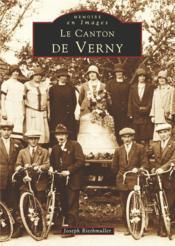 Le canton de Verny - Couverture - Format classique