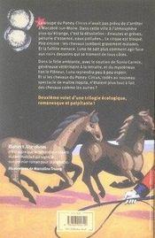 Luna Circus t.2 ; la piste sauvage de maître Hopila - 4ème de couverture - Format classique