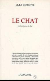 Le Chat Recit En Forme De Chat - Couverture - Format classique