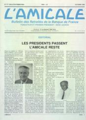 Amicale (L') N°177 du 01/10/1990 - Couverture - Format classique