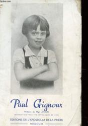Paul Pignoux 1928-1937 - Couverture - Format classique