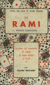 Le Rami. Regles Completes. - Couverture - Format classique