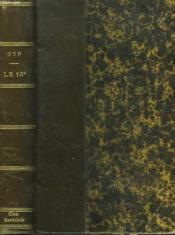 LE 13e - Couverture - Format classique