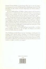Stratégies visuelles de Thomas Hobbes ; le leviathan, archetype de l'état moderne ; illustrations des oeuvres et portraits - 4ème de couverture - Format classique