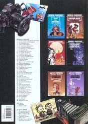 Spirou et Fantasio t.46 ; machine qui rêve - 4ème de couverture - Format classique