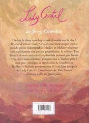 Le Ranch De La Pleine Lune T.16 ; Lady Cristal - 4ème de couverture - Format classique