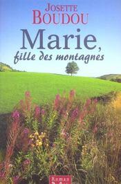 Marie Fille Des Montagnes - Intérieur - Format classique