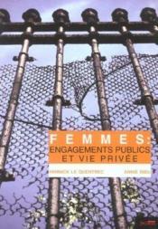 Femmes : engagements publics et vie privee - Couverture - Format classique