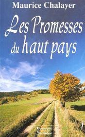 Promesses Du Haut Pays (Les) - Intérieur - Format classique