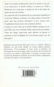 Promesses Du Haut Pays (Les) - 4ème de couverture - Format classique
