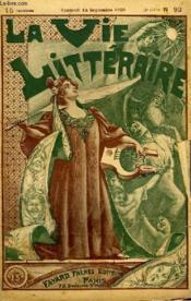 Le Revenant. Tablettes D'Une Provinciale. La Vie Litteraire. - Couverture - Format classique