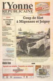 Yonne Republicaine (L') N°234 du 07/10/2005 - Couverture - Format classique