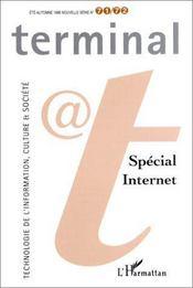 Terminal 71/72 Special Internet - Couverture - Format classique